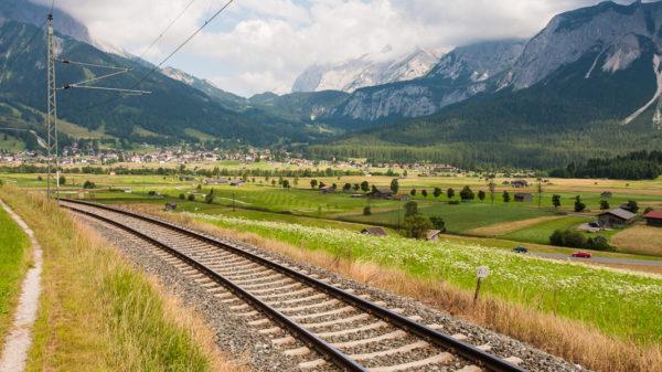 Railway near Lermoos